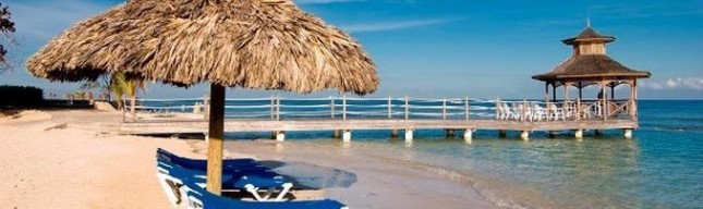Holiday Inn private beach in Montego bay