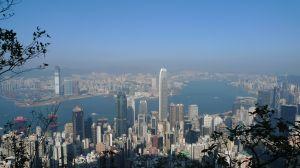 View over Hong Kong