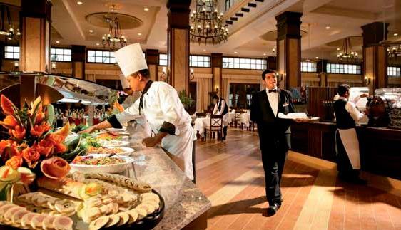 Restaurant at Hotel Riu Santa Fe