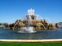 The Buckingham Fountain in Chcago, IL