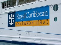The logo of Royal Caribbean International