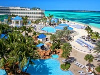 Sheraton Nassau Beach Resort on the Bahamas, Pool and Beach View