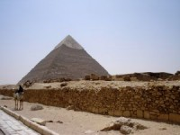 The Great Pyramid in Ghiza