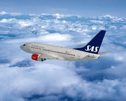 Airplane of Scandinavian Airlines - Boeing 737