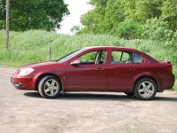 Chevrolet Cobalt compact car, 2008 model