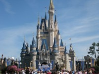 Cindarella's Castle in Disney World, Orlando, Florida