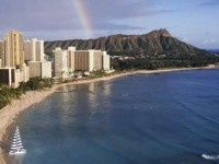 Waikiki Beach view, Hawaii