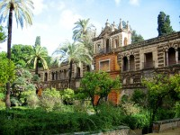 Alcazar in Seville, Spain
