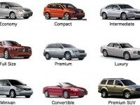 Different car types