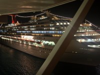 Carnival Destiny decks - night view
