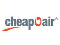 Logo of Cheapoair travel website
