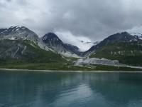 View over the Glacier Bay in Alaska