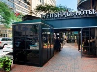 The Whitehall Hotel in Chicago, hotel entrance, boutique hotel