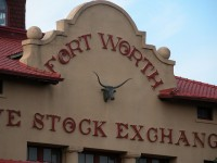 Fort Worth stock exchange office