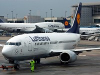 Lufthansa Airlines planes