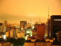 Sao Paulo, Brazil - night view