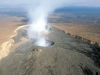 Erta Ale volcano near Addis Ababa in Ethiopia
