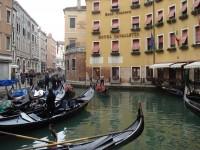 Canal gondolas in Venice, Italy