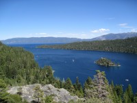 View over Lake Tahoe