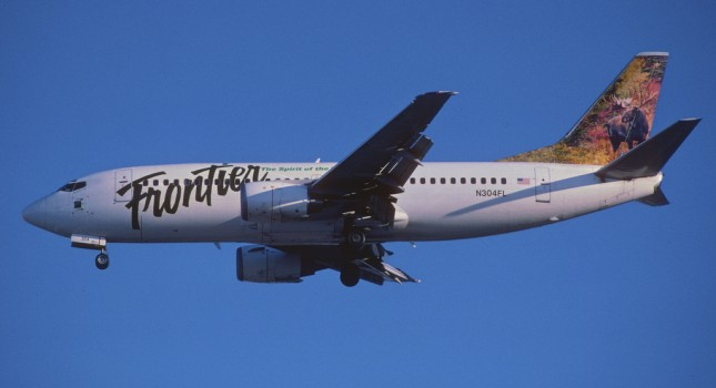 Frontier Airlines - Boeing aircraft