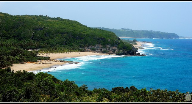 Aguadilla beach view