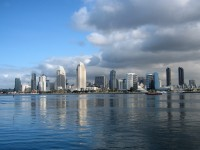 Skyline of San Diego downtown
