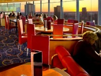 Marriott Marquis lounge