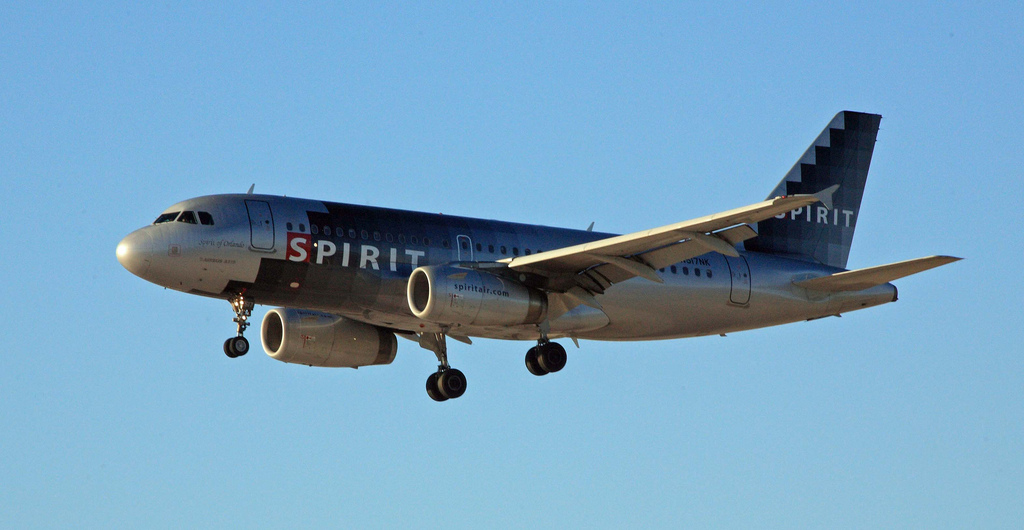 Cheap spirit airlines airfares from 72 r t for Cheap flights with spirit airlines