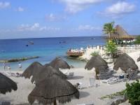 Caribbean beach scenary