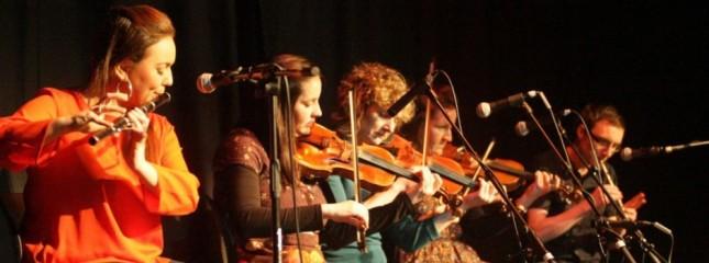 Irish music concert at Fleadh Ceoil na h-Eireann