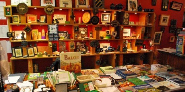 Book shop in Culturlann