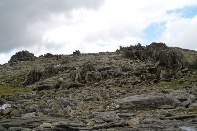 Glyder Fawr in Wales