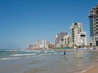 Beach view in Tel Aviv