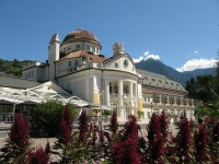 The Kurhaus in Merano, art Nouveau assembly building