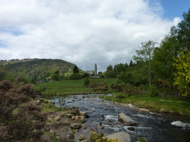 Glendalough view, Ireland