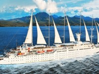 Wind Surf cruise ship by Windstar Cruise Lines