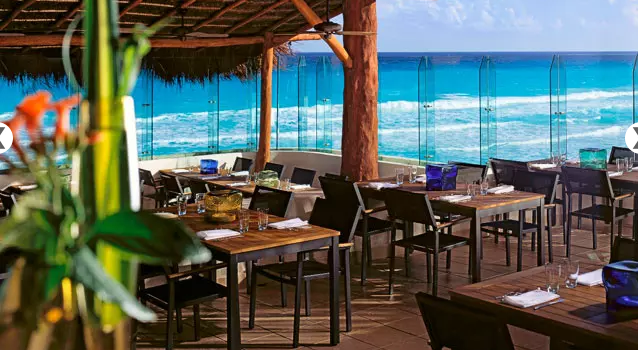 Restaurant at Live Aqua Cancun resort