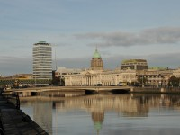 Dublin river view