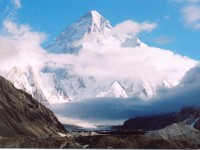 K2 peak in Pakistan