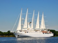 Wind Surf cruise ship