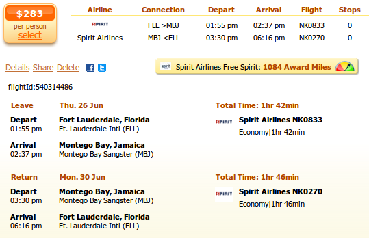 cheap airline tickets to jamaica kingston