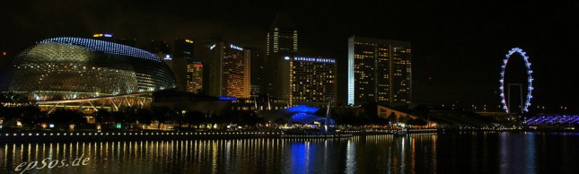Singapore view by night