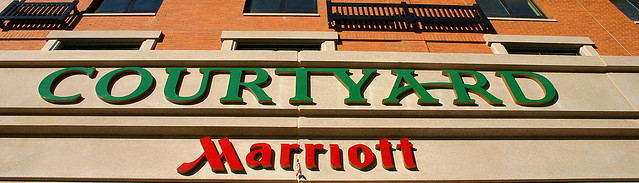 Marriott Courtyard, ©Elvert Barnes/Flickr