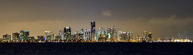 Miami at night, ©daspader/Flickr