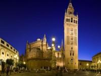 Giralda Square in Seville