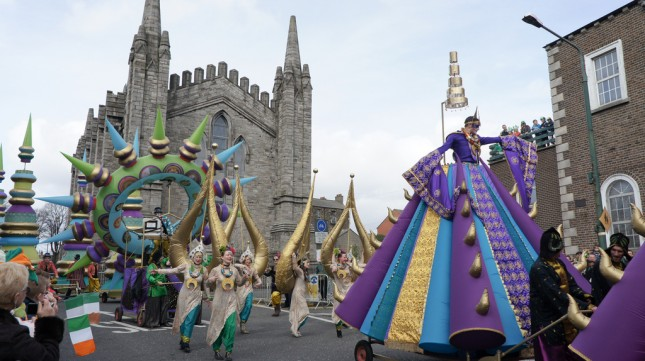 St. Patrick's Festival parade