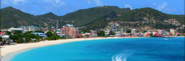 View of St Maarten