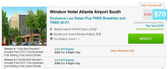Windsor Hotel Atlanta Airport South