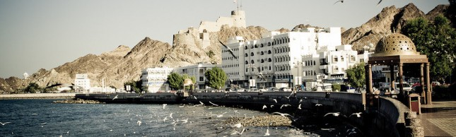 Muscat, Oman - seashore view