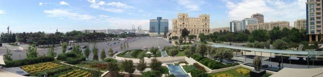 Baku panorama, Azerbaijan